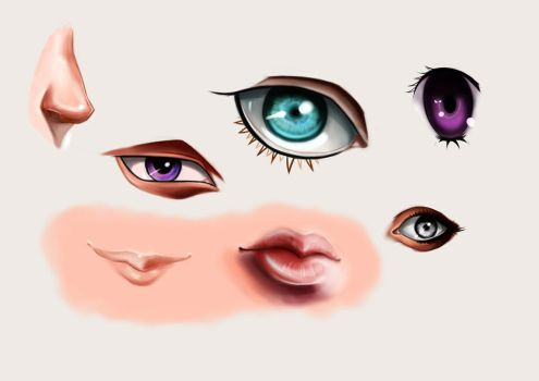 Face Details by Zeonyxx