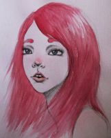 red haired by like-textas