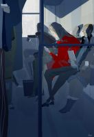 The Commuters by PascalCampion