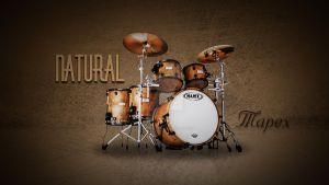 Drum Mapex Advertise by Albertostrap