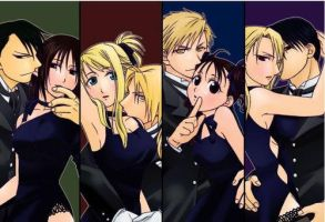 The couples FMA by kika34