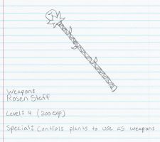 Weapon: Rosen Staff by Code-Sonic