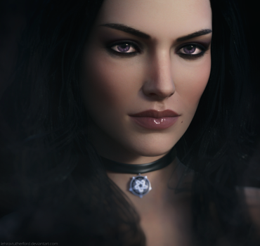 Yennefer of Vengerberg | The Witcher 3 Fanart by Lehira-Rutherford
