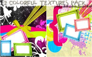 Colorful Textures Pack. by PartyWithTheStars