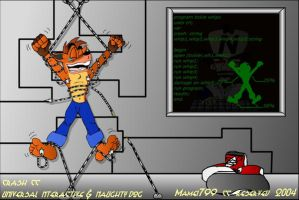 Oldies - Crash Bandicoot tickl by mamei799tickle