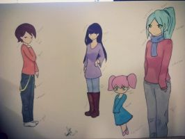 Possible Webcomic Characters by chrly