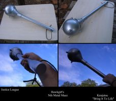 Hawkgirl's Nth Metal Mace from Justice League by Minatek616