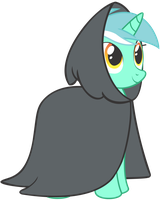 Cloaked Lyra by Ask-LyraThePony