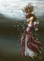 Ophelia by redheaded-step-child