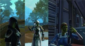 Swtor Sisters screen shot by unit1138