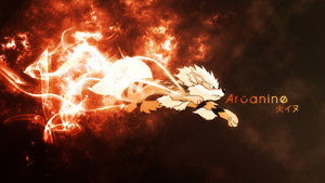 Arcanine Wallpaper by OverdrivenZX
