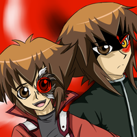 Judai and Haou With d-gazer and tattoo by THEChazzPrince