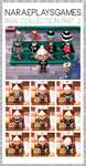 ACNL Black and White Collection Part 2 by naraeeee