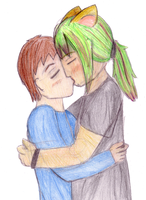 Cal and Sebastien by Luciferspet