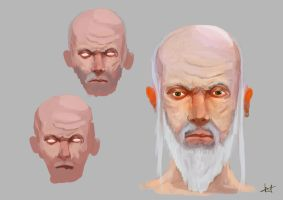 Character Design - Old Man PT 1 by tenchi24