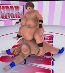 BBW _ SSBBW Wrestlers by Rendermojo