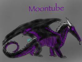 Wings of Fire-Moontube the Nightwing by BlackDragon-Studios