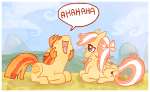 Mlp laugh scene by griffsnuff