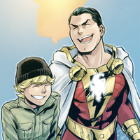 Shazam and Freddy by Sii-SEN