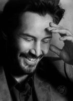 Keanu Reeves by eajna