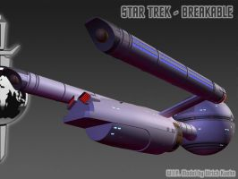 I.S.S. DAEDALUS for STAR TREK - BREAKABLE ISO-02 by ulimann644