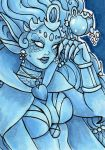 ACEO Denos Lady Crystal by nickyflamingo