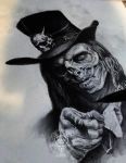 uncle sam zombie by AndreySkull