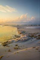 Dreamscape Beach Background Stock IV by little-spacey