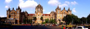 Victoria Terminus (CST), Mumbai by The--Dark--Knight