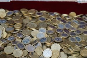Euro Coins 1 by Gwendolyn12-stock