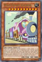 Wild Heart Express (MLP): Yu-Gi-Oh! Card by PopPixieRex