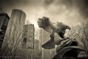 Iron Eagle, NYC by jpgmn