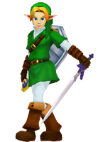 [MMD] Link 2 by Snorlaxin