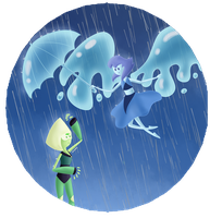 Raindrops by Dablee