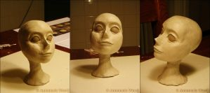 WIP Head sculpt thingy by Lyvyan