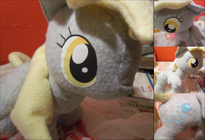 I just don't Know what went wrong! Derpy Plushie by buttsnstuff