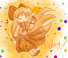 Minako Aino Birthday 2013 by iTiffanyBlue