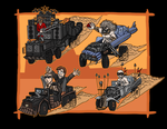 Mario kart: Fury road by Ravenfire5