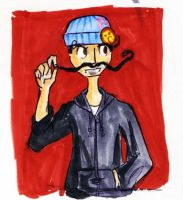AJ: Hobo Nickstache by frankenollies