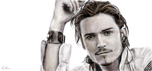 Orlando Bloom by foil-duck