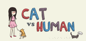 Cat vs Human by GKmero