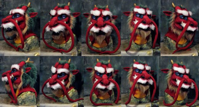 Chinese dragon head by Crystumes