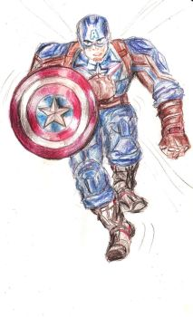 Captain America by selva-s
