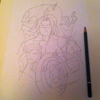 The Winter Soldier Cover by LycanJ