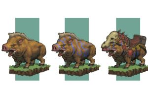 Wild Boar Concept by awesomeplex