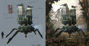 Waterbot by Exphrasis