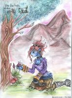 Foraging for the Mages Guild by Pink-Myotis