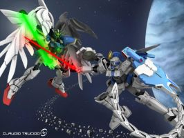 Gundam Battle by ratans02