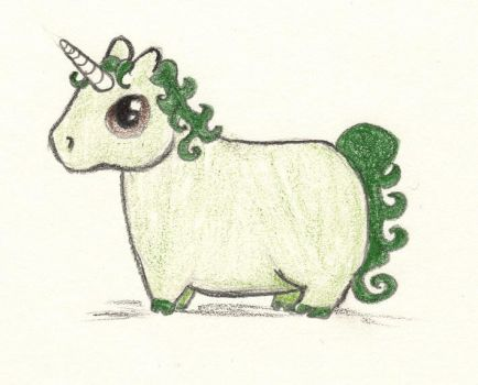 obese unicorn FTW by simplyfragile