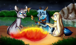 Time for Camping by Adamiro